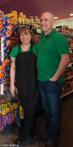 Sonia (Mendoza) and Carlos Cervantes, owners of Mendoza's Mexican Mercado