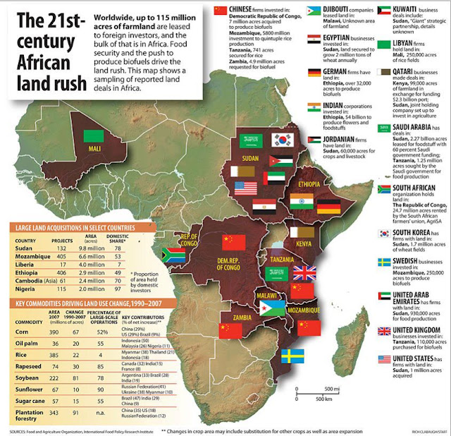 Mapping the land grab in Africa - GoodFood World