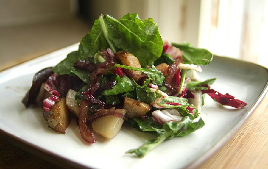 Warm Sunchoke Salad