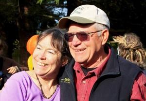 Patty and Nash Huber, Nash's Organic Produce