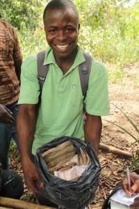 Alfred Zemaiwelai, lead farmer