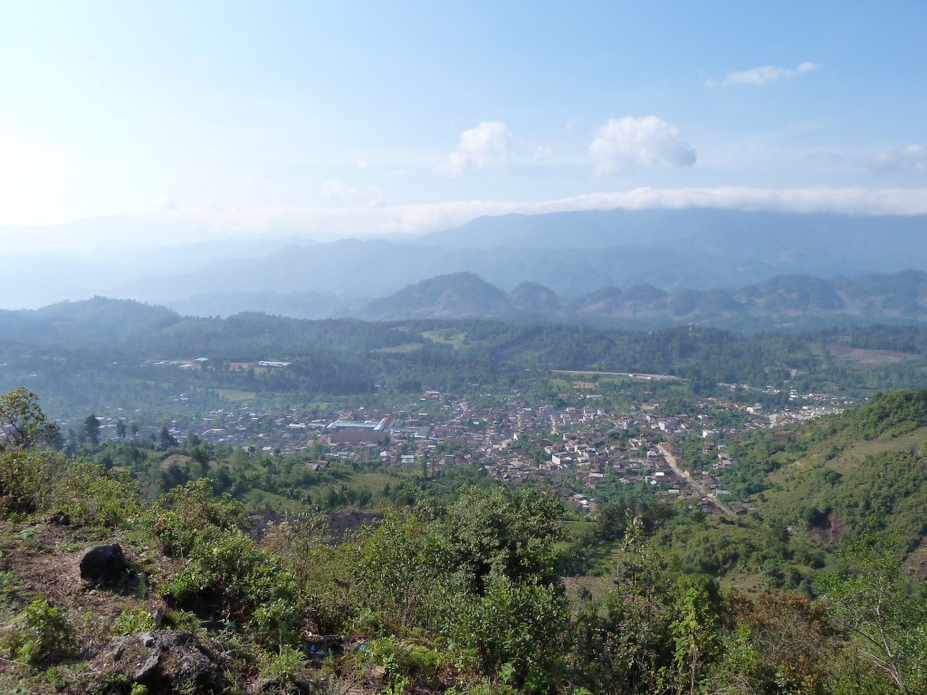 Chajul, seen from the mountain.