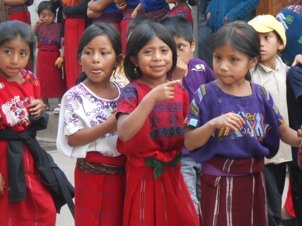 The beautiful children of Chajul.